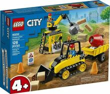 Construction Bulldozer, Lego 60252, Christos Varosis, City