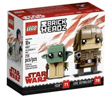 BrickHeadz Luke Skywalker and Yoda, Lego 41627, Ernst, BrickHeadz