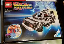 The DeLorean Time Machine, Lego 21103, Mitja Bokan, Ideas/CUUSOO, Ljubljana