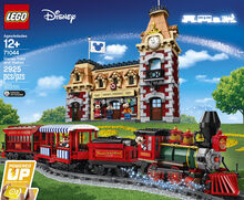 Disney Train and Station, Lego 71044, Creations4you, Disney, Worcester