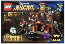 The Dynamic Duo Funhouse Escape Lego 6857