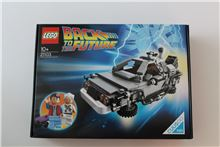 Reduced!!! Back to the Future Delorean Time Machine, Lego 21103, Tracey Nel, Ideas/CUUSOO, Edenvale