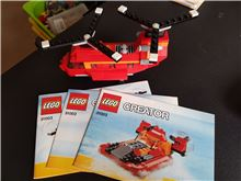Red Rotors, Lego 31003, WayTooManyBricks, Creator, Essex