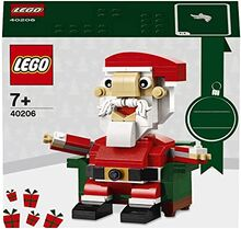Exclusive Holiday Santa Lego