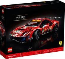 Ferrari 488 GTE, Lego 42125, Dream Bricks, Technic, Worcester