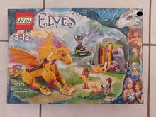 Fire Dragon's Lava Cave, Lego 41175, Tracey Nel, Elves, Edenvale