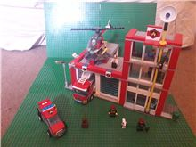 Fire Station, Lego 60004, OtterBricks, City, Pontypridd