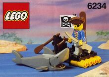 Renegade's Raft, Lego 6234, Creations4you, Pirates, Worcester