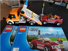 Flatbed Truck, Lego 60017, WayTooManyBricks, City, Essex