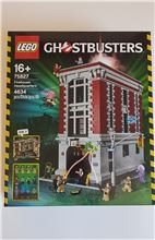 Ghostbuster's Firehouse Headquarters, Lego 75827, Tracey Nel, Ghostbusters, Edenvale