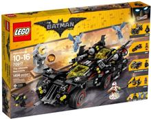 The Ultimate Batmobile, Lego 70917, Ernst, Super Heroes