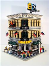 Grand Emporium modular, Lego, Creations4you, Modular Buildings, Worcester