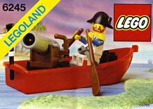 Harbor Sentry, Lego 6245, Creations4you, Pirates, Worcester