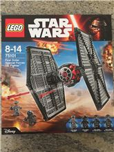 First order special forces tie fighter, Lego 75101, Phillip, Star Wars, Cape Town