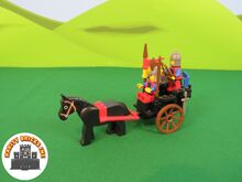 Horse Cart, Lego 6022, Rarity Bricks Inc, Castle, Cape Town