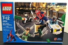 2004 Doc Ock's Bank Robbery, Lego 4854, Christos Varosis, Super Heroes