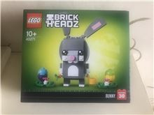 LEGO 40271 Easter Bunny Brick Headz, Lego 40271, Dan Bricks, BrickHeadz, North Wales
