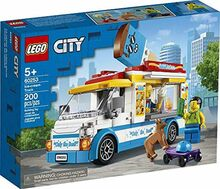 Ice-cream Truck, Lego 60253, Christos Varosis, City