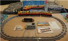 Inter-City Passenger Train, Lego 7740, PeterM, Train, Johannesburg
