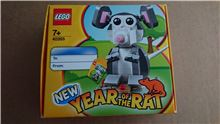 Lego 40355 Year Of The Rat 2020 new and sealed in original box, Lego 40355, Stephen Wilkinson, Creator, rochdale