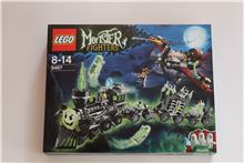 Monster Fighters Ghost Train, Lego 9467, Tracey Nel, Monster Fighters, Edenvale