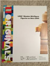 Lego Originals Wooden Mini Figure, Lego 853967, Gohare, Classic, Tonbridge