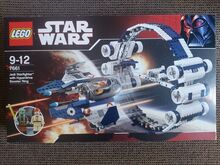 Jedi Starfighter with Hyperdrive Booster Ring Lego 7661