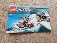 Jetpack pursuit, Lego 8631, Jeremy, Agents, Reading