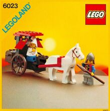 Maiden's Cart, Lego 6023, Creations4you, Castle, Worcester