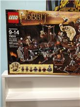 The Hobbit: The Goblin King Battle, Lego 79010, Joanne Kent, The Hobbit, Calgary