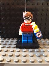 Dick Grayson minifigure The LEGO Batman Movie Series 1 Complete 71017, Lego 71017-9, NiksBriks, Minifigures, Skipton, UK