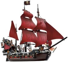 Queen Anne's, Lego 4195, Creations4you, Pirates of the Caribbean, Worcester
