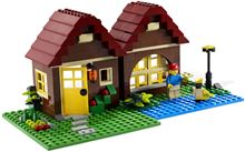 L👀K at 5766 Log Cabin, Lego 5766, Ted Logan, City, Aberglasslyn
