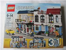Bike Shop and Cafe, Lego 31026, Christos Varosis, Creator, Serres