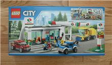 Lego 60132 Service Station, Lego 60132, Brickworldqc, City