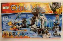 Lego 70226 Mammoth's Frozen Stronghold, Lego 70226, Brickworldqc, Legends of Chima