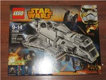 Lego 75106 Imperial Assault Carrier, Lego 75106, Brickworldqc, Star Wars