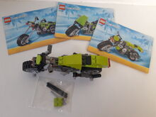 LEGO Creator 3 in 1 Highway Cruiser (31018) 100% Complete retired Lego 31018