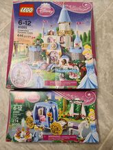 Lego Disney Princess Cinderella's Romantic Castle & Dream Carriage lot - NIB, Lego 41055; 41053, Tanya, Disney Princess, Lethbridge