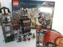 LEGO Pirates of the Caribbean  The Mill (4183) 100% Complete retired with Box, Lego 4183, NiksBriks, Pirates of the Caribbean, Skipton, UK