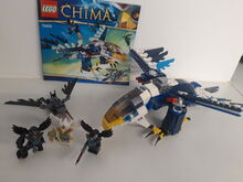 LEGO Legends of Chima Eris' Eagle Interceptor (70003) 100% Complete retired Lego 70003