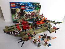 LEGO Legends of Chima Cragger's Command Ship (70006) 100% Complete retired, Lego 70006, NiksBriks, Legends of Chima, Skipton, UK