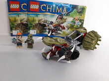 LEGO Legends of Chima Crawley's Claw Ripper (70001) 100% Complete retired, Lego 70001, NiksBriks, Legends of Chima, Skipton, UK
