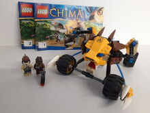 LEGO Legends of Chima Lennox' Lion Attack (70002) 100% Complete retired, Lego 70002, NiksBriks, Legends of Chima, Skipton, UK