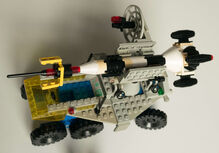 Lego Space 6950 Fahrbare Startrampe / Mobile Rocket Transport von 1982 Lego 6950