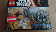 LEGO STAR WARS 75136 DROID ESCAPE POD, Lego 75136, Stephen Wilkinson, Star Wars, rochdale