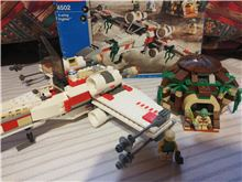 Lego Star Wars X-wing and house Lego 4502