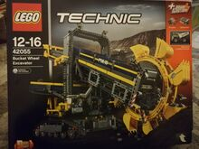 Lego technic bucket wheel excavator BNIB, Lego 42055, Laval Julian, Technic, Tadworth