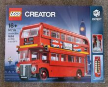 London bus Lego 10258