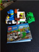 Garbage Truck, Lego 30313, WayTooManyBricks, City, Essex